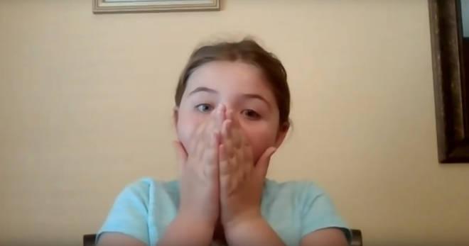 Aubrey reacts to surprise Hamilton Zoom call