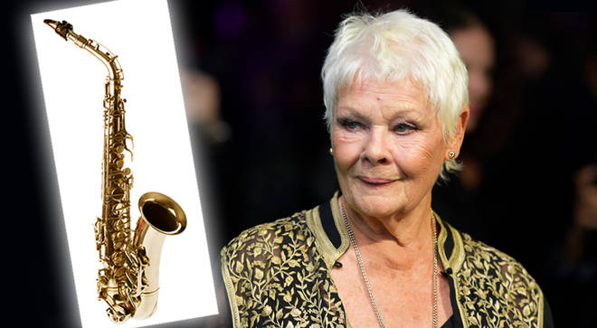 Dame Judi Dench wants to learn how to play the saxophone