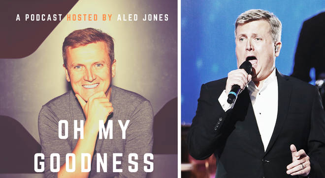 Aled Jones launches 'Oh My Goodness' podcast
