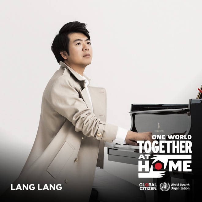 Lang Lang is among the classical artists on Lady Gaga's One World concert line-up