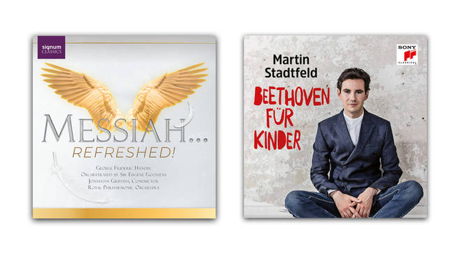 Messiah…Refreshed! – Royal Philharmonic Orchestra; Beethoven For Children – Martin Stadtfeld