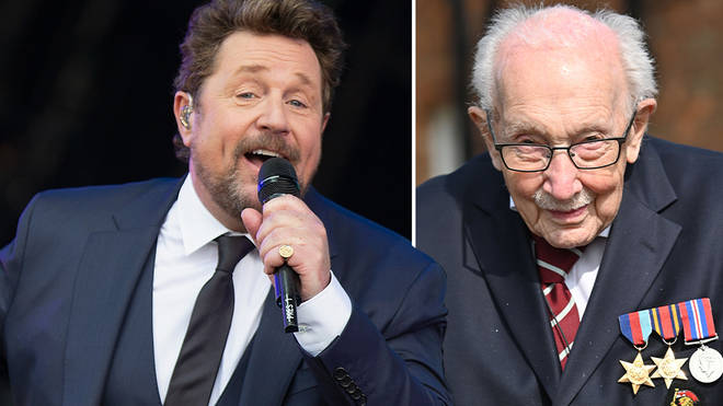 Michael Ball and Capt. Tom Moore release 'You'll Never Walk Alone' duet for NHS