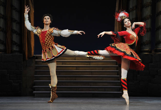The Royal Ballet performs The Flames of Paris at The Royal Opera House, London