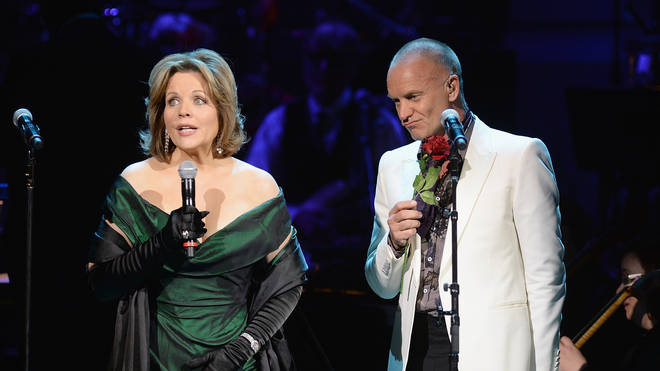 Renée Fleming and Sting