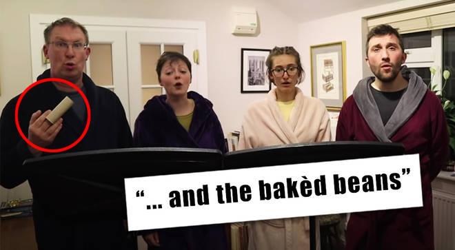 Self-isolating choir sings new Psalm 151 in time of coronavirus