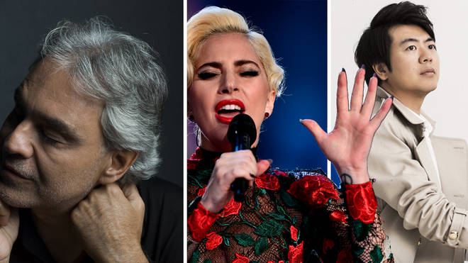 Andrea Bocelli and Lang Lang among the classical music artists on Lady Gaga's One World concert line-up