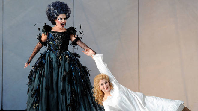 Kathryn Lewek and Elena Xanthoudakis star in ENO production of Mozart's The Magic Flute