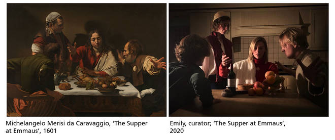 An atmospheric take on Caravaggio