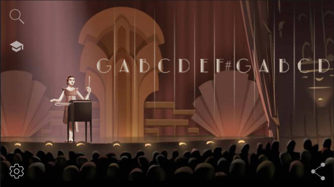 Google Doodle invites you to play the theremin with Clara Rockmore