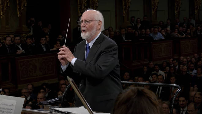 John Williams conducts the Imperial March