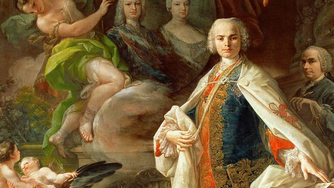Portrait of Italian castrato singer Farinelli by Corrado Giaquinto