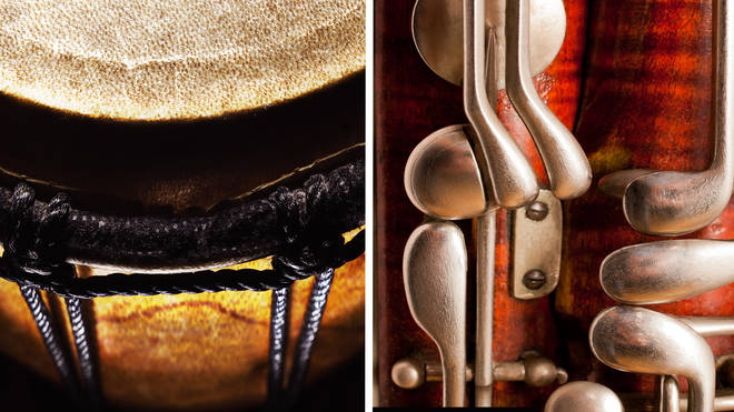 Can you guess the musical instrument from these close-ups?