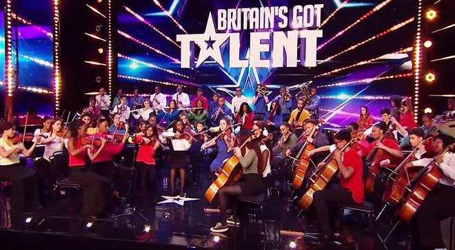 Chineke! Junior Orchestra audition on Britain's Got Talent