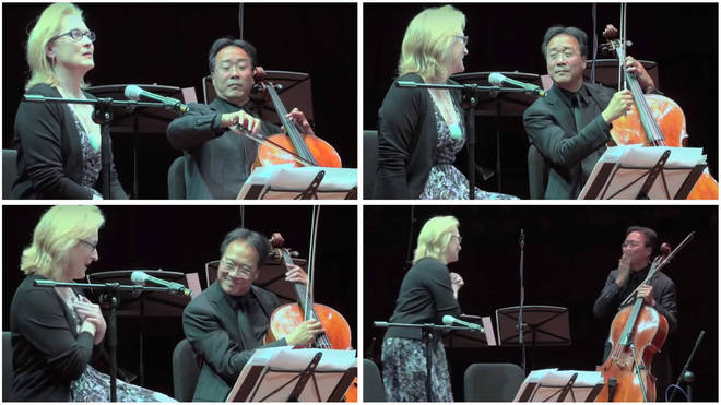 Meryl Streep reciting poetry to Yo-Yo Ma's cello is the lockdown tonic we all need