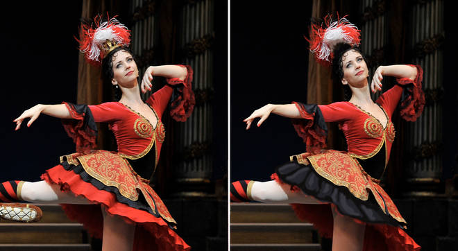 Anna Tikhomirova dances at The Royal Opera House