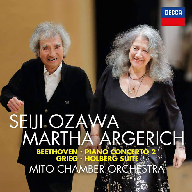 'Beethoven: Piano Concerto No. 2; Grieg: Holberg Suite' by Seiji Ozawa and Martha Argerich