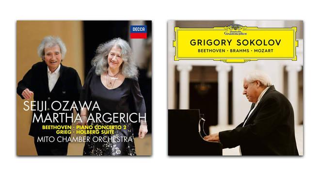 Beethoven: Piano Concerto No. 2 – Ozawa and Argerich; Beethoven, Brahms & Mozart – Grigory Sokolov