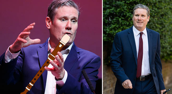 Sir Keir Starmer plays flute, recorder and piano, and was a Guildhall music scholar