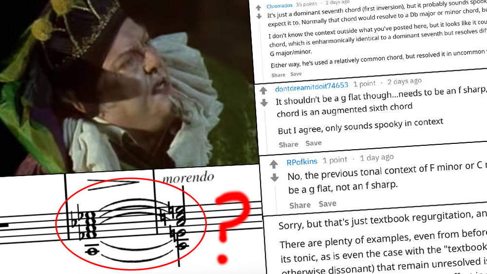 People Are Getting Really Creeped Out By This One Single Chord In Rigoletto Classic Fm