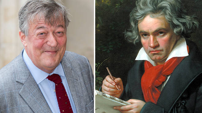 Stephen Fry says Beethoven's music 'brought colour back' to his life when he had depression