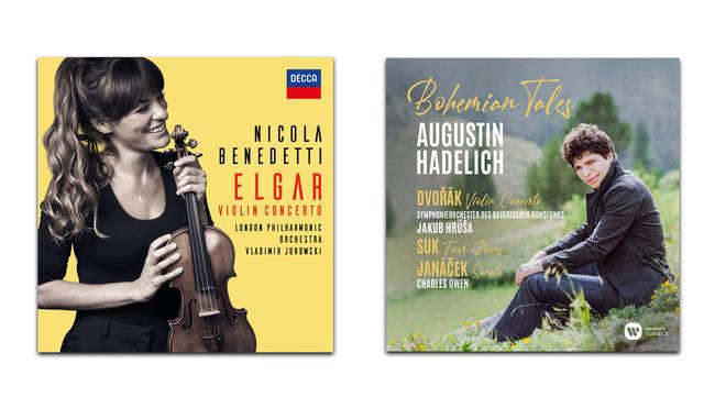 Elgar – Nicola Benedetti; Bohemian Tales – Augustin Hadelich