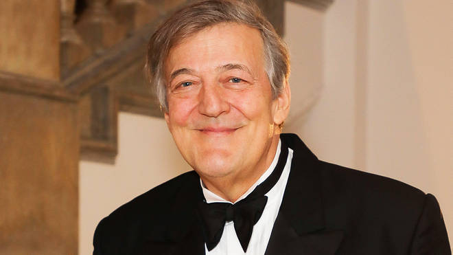 English actor, comedian and writer, Stephen Fry