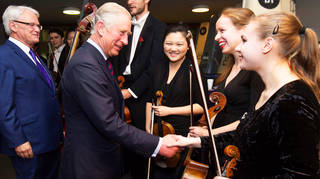 HRH The Prince of Wales' full list of musical patronages