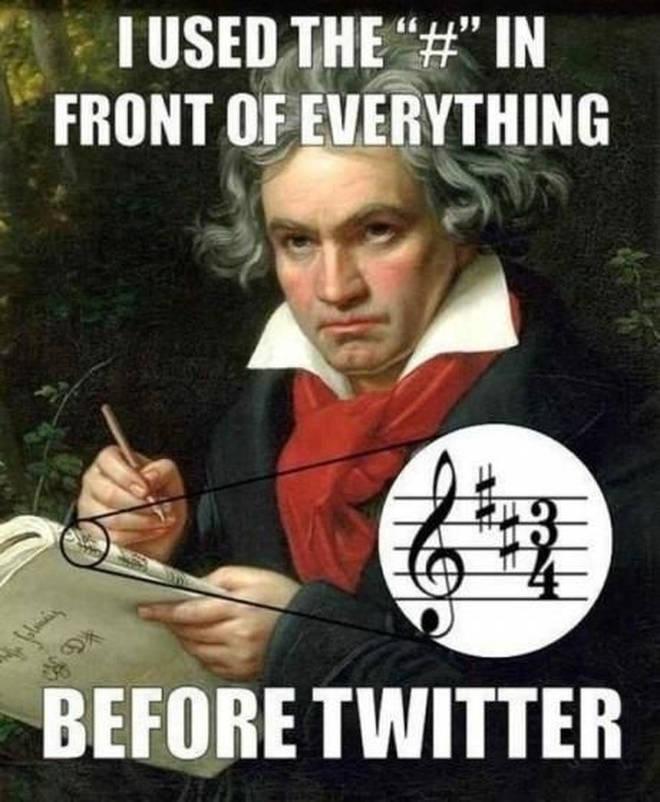 Hashtags or sharps