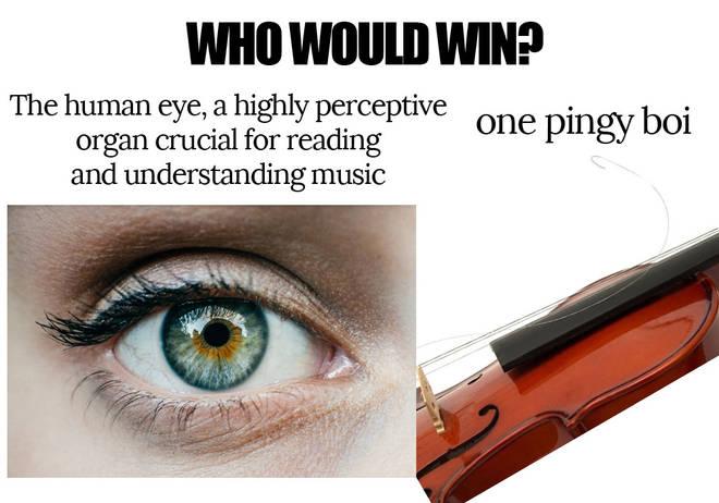 E string