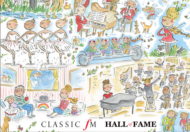 Limited Edition Classic FM Hall of Fame jigsaw puzzle raising money for Global's Make Some Noise