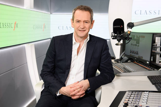 Alexander Armstrong will become only the fourth presenter of Classic FM's flagship weekday show