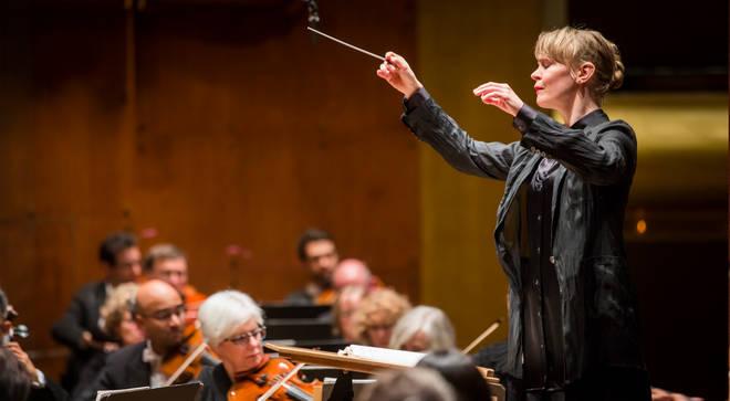 Finnish conductor, Susanna Mälkki