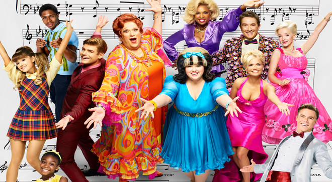 The cast of Hairspray Live!