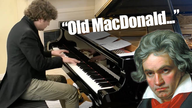 'Old MacDonald Had a Farm' reworked in the style of Beethoven