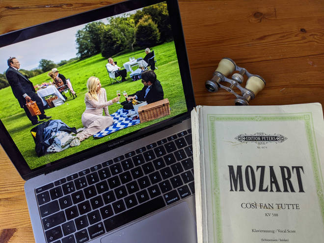 Glyndebourne Open House festival launched last Sunday with the Open House Opening Night' production of Mozart's The Marriage of Figaro