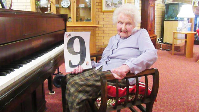 A 98-year-old woman is raising money for the NHS by playing the piano every day for 100 days