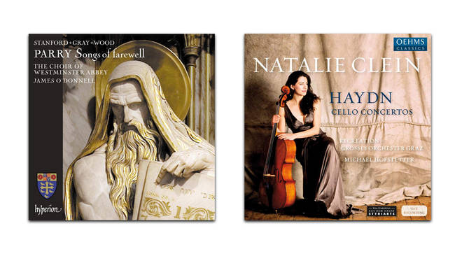 Parry: Songs of Farewell by Choir of Westminster Abbey and Haydn: Cello Concertos by Natalie Clein