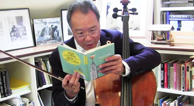 Yo-Yo Ma reads an excerpt of Roald Dahl's James and the Giant Peach
