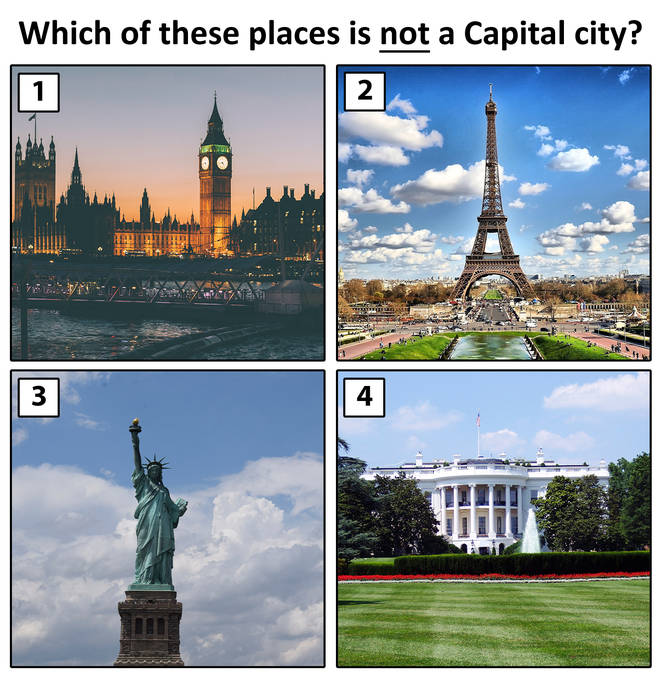 Which city is NOT a capital?