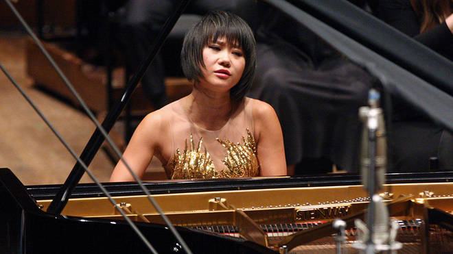 Yuja Wang responds to piano store image