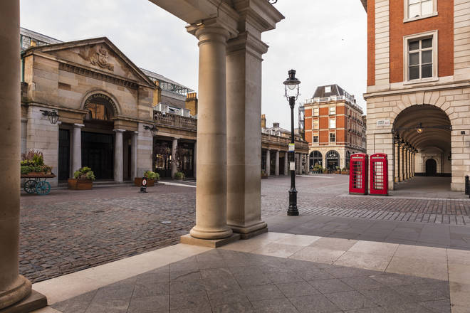 Royal Opera House has been closed to the public since 17 March