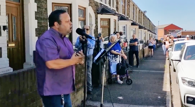 Paul Potts serenaded elderly Welsh neighbours with 'Nessun dorma'