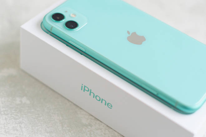 Text for your chance to win an iPhone 11