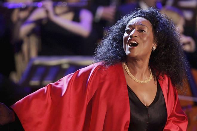 American opera singer Jessye Norman in 2006