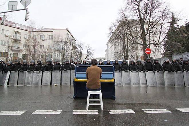 Pianist in Kiev