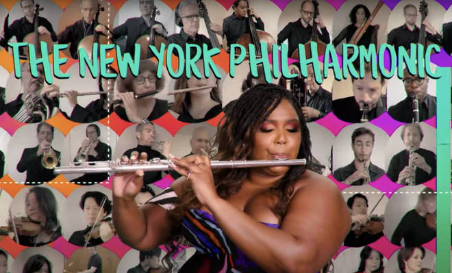 Lizzo plays flute with NY Philharmonic for virtual 2020 graduation ceremony