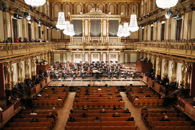 100 people attend Vienna's Musikverein