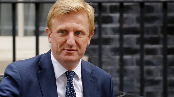 Culture Secretary Oliver Dowden arrives at 10 Downing Street