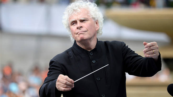 Sir Simon Rattle warns of a 'devastating landscape' for classical music