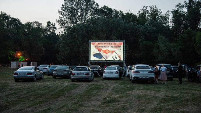 Drive-in cinemas are on the rise